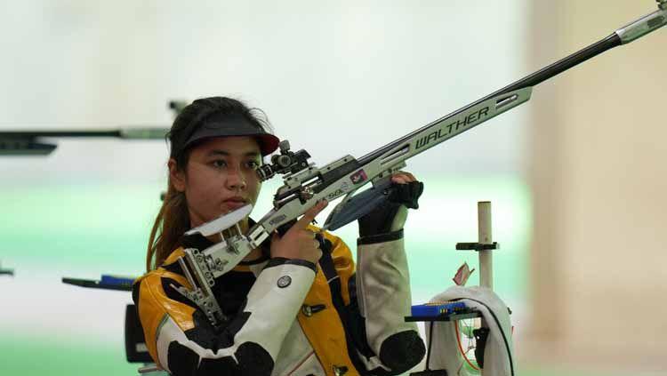 Vidya Rafika Rahmatan Toyyiba, atlet menembak Indonesia Copyright: © NOC Indonesia