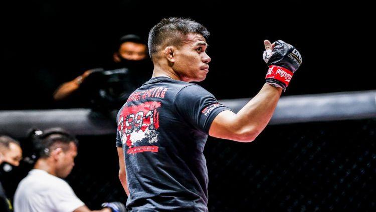 Petarung Mixed Martial Arts (MMA) asal Indonesia, Eko Roni Saputra. Copyright: © Dok. ONE Championship