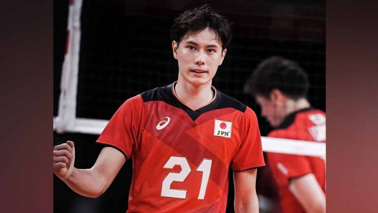 Ran Takahashi, atlet voli tampan asal Jepang. Copyright: © Instagram@pieceofran