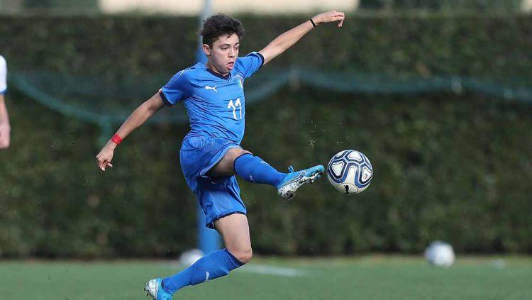 Samuele Vignato, wonderkid masa depan Italia incaran lima klub elite Eropa. Copyright: © Gabriele Maltinti/Getty Images