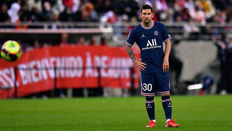 Jadi 'Tuna Wisma' di PSG, Lionel Messi Frustrasi Ingin Bunuh Diri Copyright: © Aurelien Meunier/Getty Images