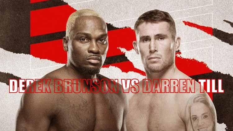 Berikut jadwal dan daftar petarung yang akan berduel di ajang UFC Vegas 36, dengan kartu utama antara Derek Brunson vs Darren Till pada akhir pekan ini Copyright: © yscpl.net/INDOSPORT