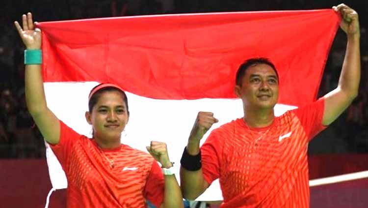 Pasangan pebulu tangkis <a href='https://manado.tribunnews.com/tag/indonesia' title='Indonesia'>Indonesia</a> <a href='https://manado.tribunnews.com/tag/hary-susanto' title='HarySusanto'>HarySusanto</a>/Ratri Oktila melaju ke babak <a href='https://manado.tribunnews.com/tag/final' title='final'>final</a> <a href='https://manado.tribunnews.com/tag/paralimpiade-tokyo' title='ParalimpiadeTokyo'>ParalimpiadeTokyo</a> 2020 Copyright: © ANTARA FOTO/Akbar Nugroho Gumay