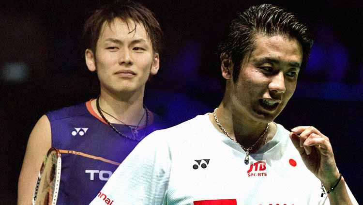 Dua pemain bulutangkis ganda andalan Jepang, Takeshi Kamura dan Hiroyuki Endo, dikabarkan resmi gantung raket alias pensiun sebagai pemain bulutangkis. Copyright: © Yonex All England Badminton Championships/INDOSPORT