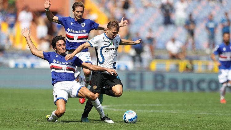 Hasil Pertandingan Liga Italia Sampdoria vs Inter Milan Copyright: © Sampdoria vs Inter Milan, Minggu (12/09/21)