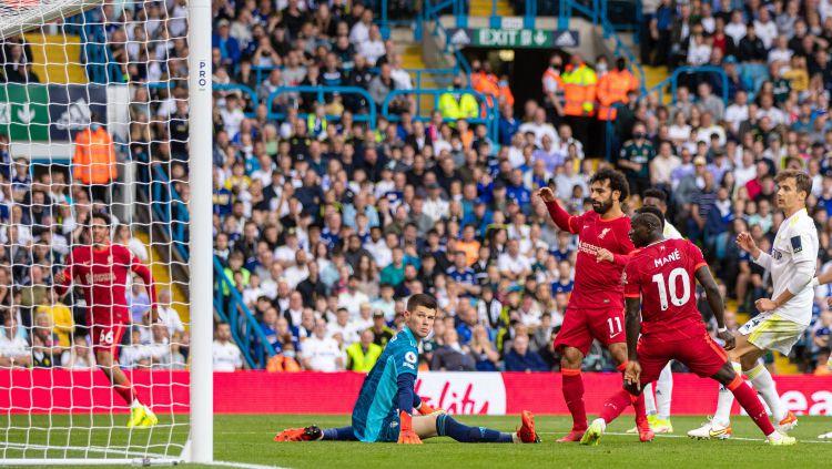 Hasil Liga Inggris Leeds United vs Liverpool: Struijk Kartu Merah, The Reds Menang Telak Copyright: © twitter.com/LFC