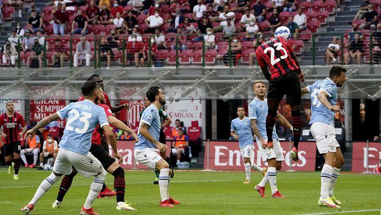 Hasil Pertandingan Liga Italia AC Milan vs Lazio: I Rossoneri Menang Lagi. Copyright: © twitter.com/acmilan
