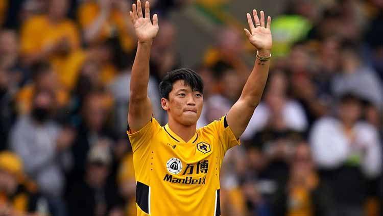 Hwang Hee-chan cetak gol bagi Wolverhampton Wanderers di Liga Inggris. Copyright: © teamtalk