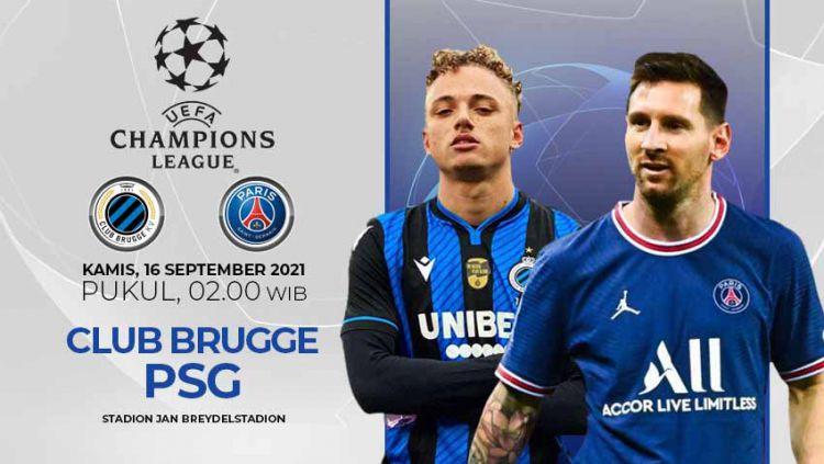 Club Brugge vs Paris Saint-Germain (Liga Champions) Copyright: © INDOSPORT