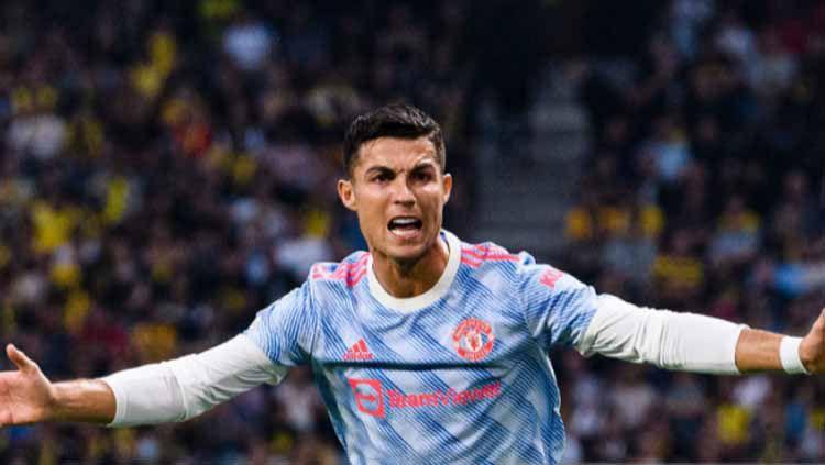 Cristiano Ronaldo pada laga Liga Champions melawan BSC Young Boys Copyright: © Jonathan Moscrop/Getty Images