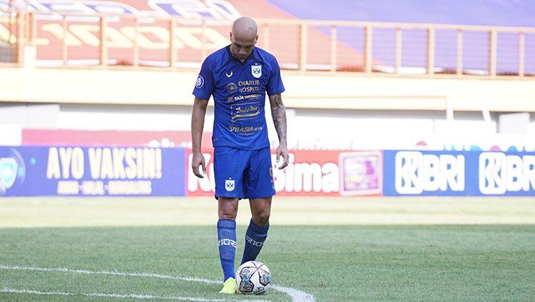 Striker PSIS Semarang, Bruno Silva. Copyright: © Media PSIS Semarang