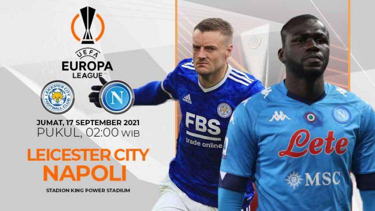Leicester City vs Napoli (Liga Eropa) Copyright: © INDOSPORT