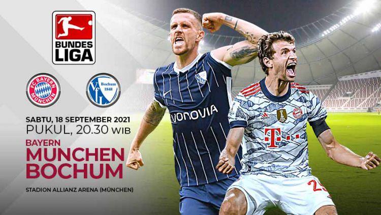 Pertandingan antara Bayer Munchen vs VfL Bochum (Bundesliga). Copyright: © Grafis: Yuhariyanto/Indosport.com