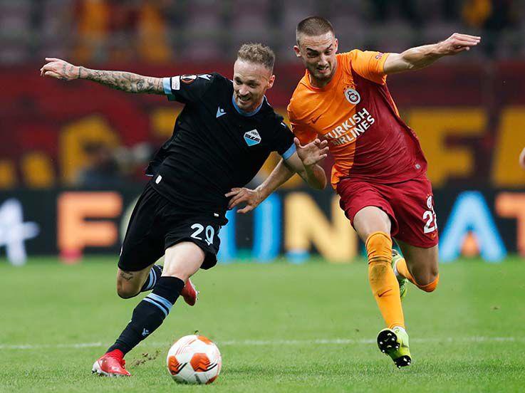 Hasil Liga Europa Galatasaray vs Lazio: Ditentukan Blunder Konyol