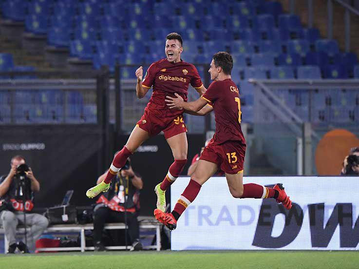 Hasil UEFA Conference League AS Roma vs CSKA Sofia: Pellegrini Brace, Serigala Menang Besar