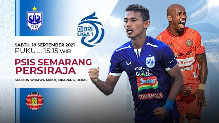 Pertandingan antara PSIS Semarang vs Persiraja (Liga 1 BRI). Copyright: © Grafis: Yuhariyanto/Indosport.com