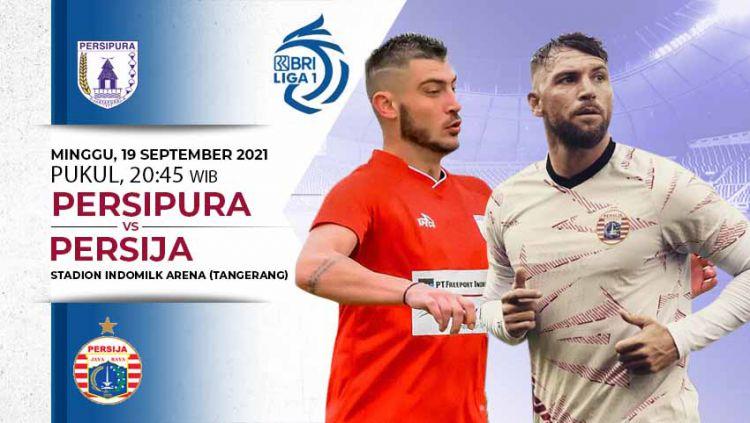 Berikut link live streaming pertandingan BRI Liga 1 2021-2022 pekan ke-3 antara Persipura Jayapura vs Persija Jakarta. Copyright: © INDOSPORT