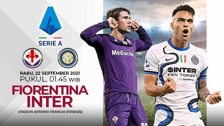Pertandingan antara Fiorentina vs Inter Milan (Serie A Italia). Copyright: © Grafis: Yuhariyanto/Indosport.com