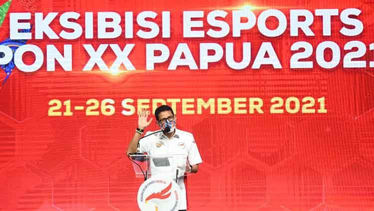 Menteri Pariwisata dan Ekonomi Kreatif (Menparekraf) Sandiaga Uno . Copyright: © Istimewa.