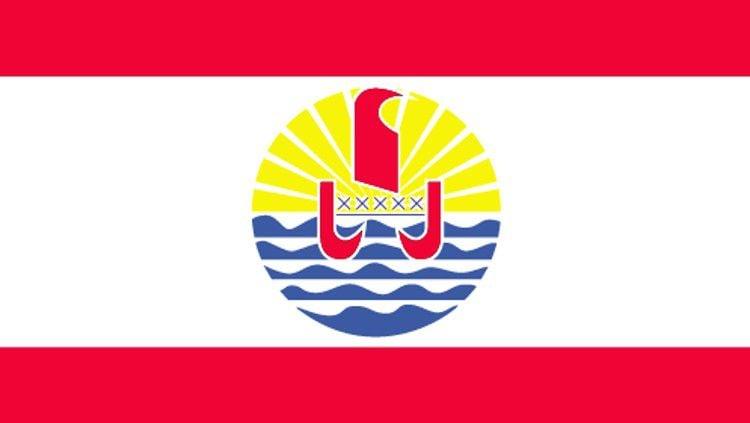 Bendera Tahiti. Copyright: © www.oceanianoc.org
