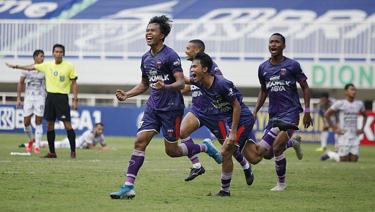Persita akan menghadapi Persija pada pekan kelima Liga 1 2021/22 di Stadion Pakansari, Selasa (28/09/21). Copyright: © Herry Ibrahim/INDOSPORT