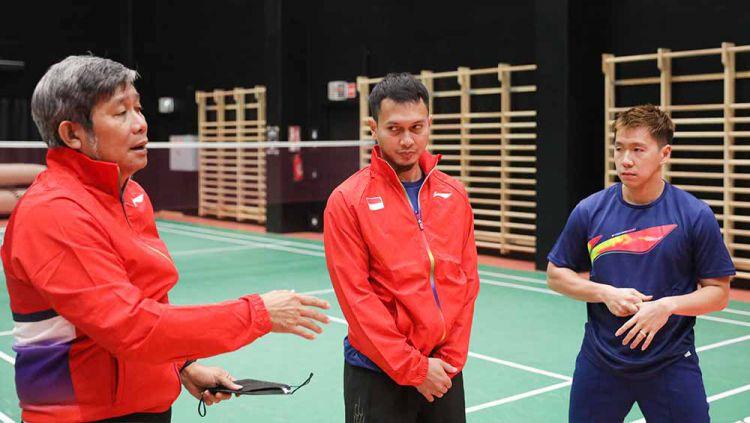 Tim Indonesia di Piala Sudirman. Copyright: © PBSI