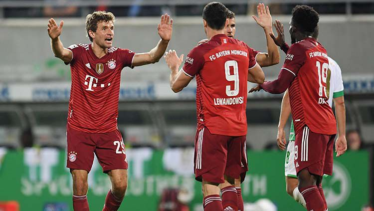 Greuther Furth vs Bayern Munchen Copyright: © REUTERS