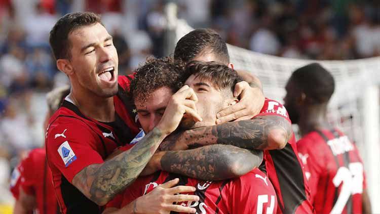 Berikut jadwal ajang Liga Champions 2021-2022 tengah pekan ini, ada duel AC Milan vs Atletico hingga PSG kontra Manchester City. Copyright: © Gabriele Maltinti/Getty Images