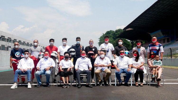 Tim Balap CRK Motorsport resmi mengumumkan Mr. Cuanisasi sebagai Sponsor utama musim 2021 dan 2022. Copyright: © Istimewa