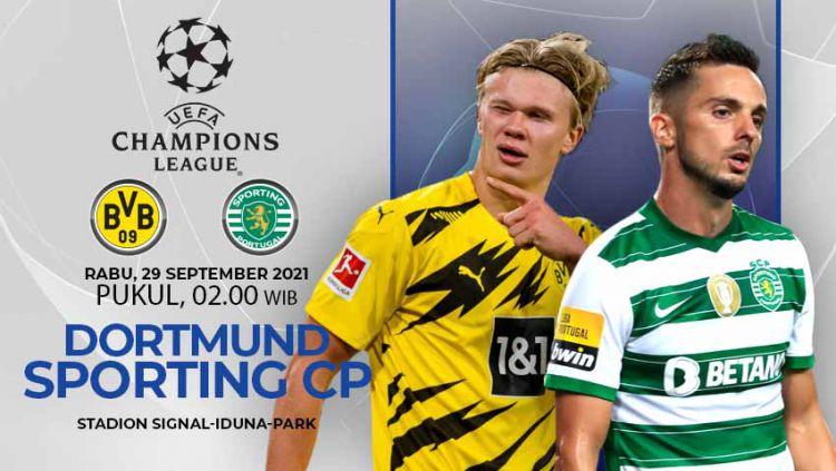 Prediksi Borussia Dortmund vs Sporting CP (Liga Champions) Copyright: © INDOSPORT