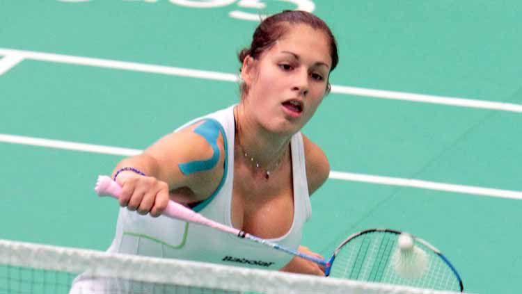 Stefani Stoeva pebulutangkis Bulgaria Copyright: © badmintoncentral