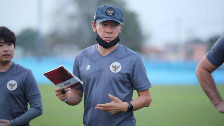 Jadi Lawan di Piala AFF 2021, Media Malaysia Sindir Target Aneh Shin Tae-yong. Copyright: © Bandung Saputra/PSSI