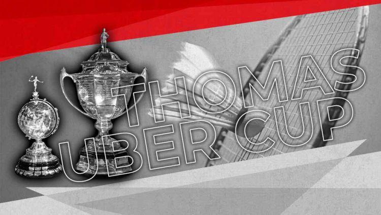 Thomas dan Uber Cup. Copyright: © Grafis:Yanto/Indosport.com