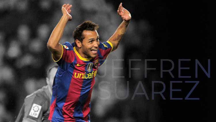 Jeffren Suarez saat berseragam Barcelona Copyright: © JOSEP LAGO/AFP via Getty Images