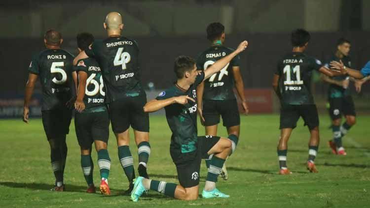 Indosport - Tira Persikabo saat mengalahkan Borneo FC 3-0 pada pekan ketujuh Liga 1 2021-2022.
