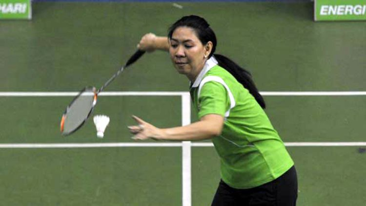 Melihat Aksi Susy Susanti Kontra Wakil China yang Sekarang Jadi WNI Copyright: ©