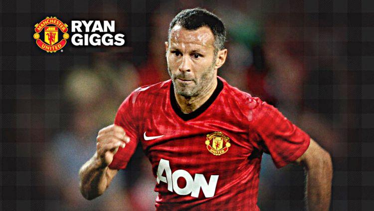 Ryan Giggs adalah salah satu pemain yang memiliki koleksi trofi terbanyak sepanjang masa. Copyright: ©