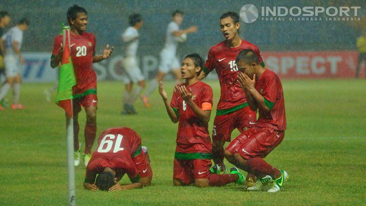 Bagaimana kabar para pemain Timnas Indonesia U-19 yang mengalahkan Korea Selatan 2013 silam? Copyright: © Ratno Prasetyo/ INDOSPORT