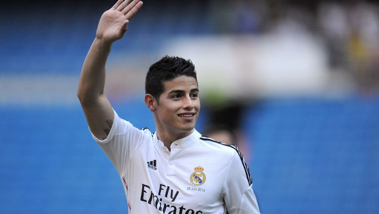 James Rodriguez (Real Madrid) Copyright: © GETTY IMAGES