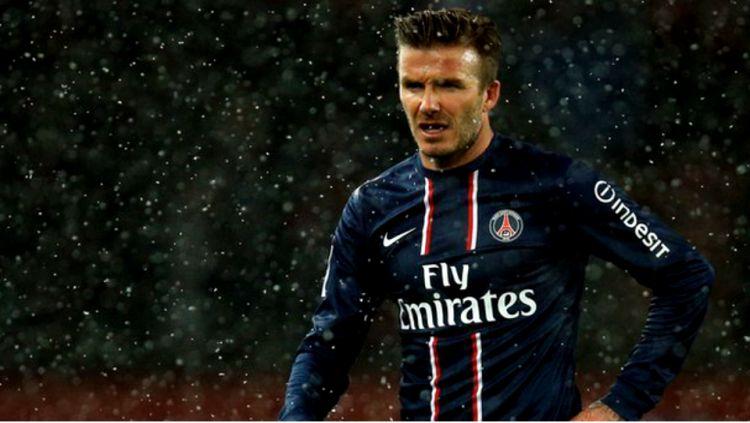 Tujuh tahun yang lalu, David Beckham hijrah dari MLS ke Ligue 1 Prancis untuk bergabung bersama PSG. Copyright: ©
