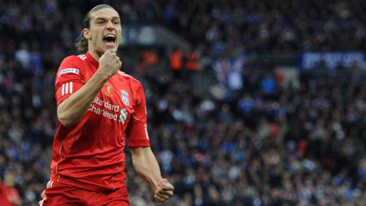 Andy Carroll saat masih membela Liverpool. Copyright: © GETTY IMAGES
