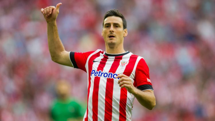 Aritz Aduriz saat membela  Athletic Bilbao. Copyright: © GETTY IMAGES