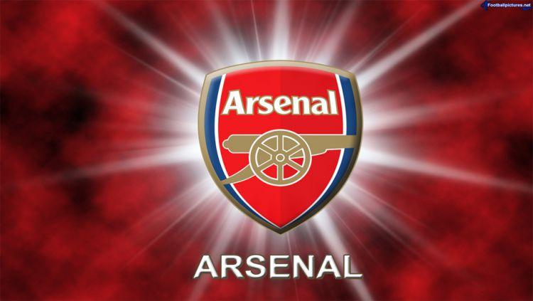Logo Klub Liga Inggris, Arsenal. Copyright: ©