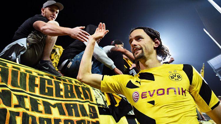 Neven Subotic, mantan anak asuh Jurgen Klopp di Borussia Dortmund Copyright: © Getty Images