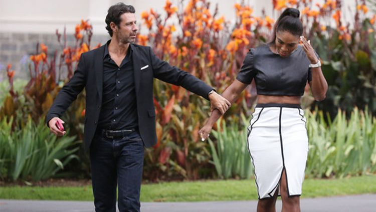 Patrick Mouratoglou dan Serena Williams Copyright: © INTERNET