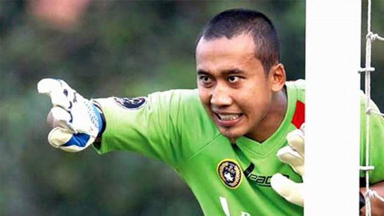 Galih Sudaryono, eks kiper Timnas Indonesia. Copyright: © Internet