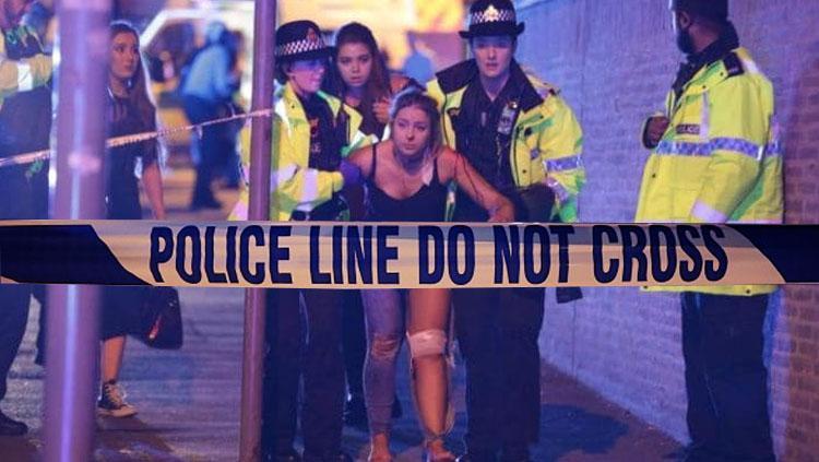 Indosport - Ledakan Bom Manchester Arena